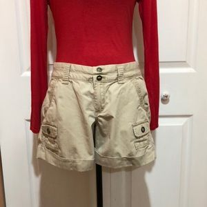 Old Navy Tan Ladies Cargo Shorts